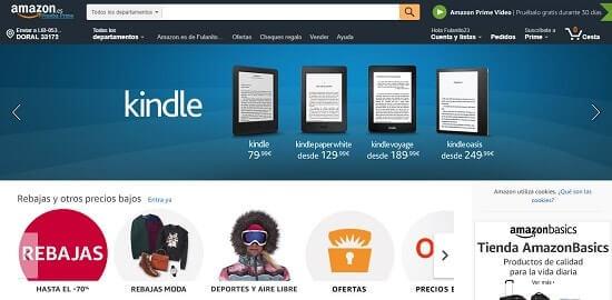 comprar ropa barata en Amazon