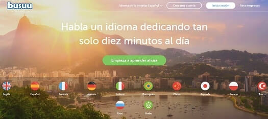 Bussu web aprender inglés
