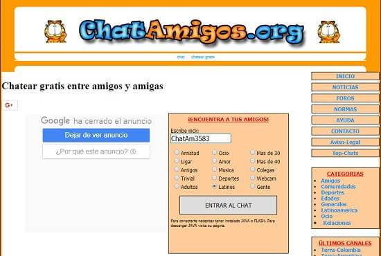 chat de chatea gratis
