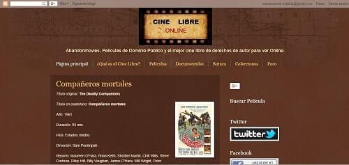 Cine Libre ONLINE ver peliculas online gratis