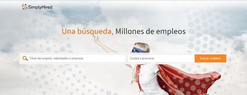 Simply Hired paginas para encontrar trabajo