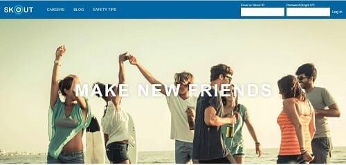 redes sociales para conocer gente skout