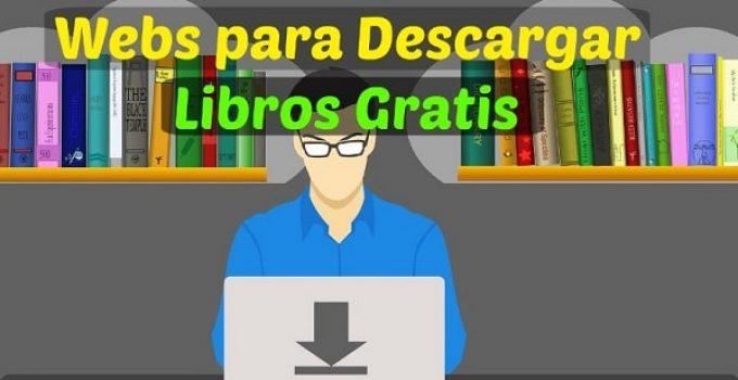 webs para bajar libros gratis online
