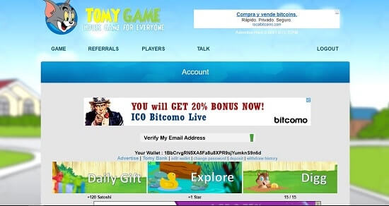 tomy game web