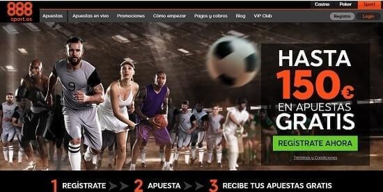 888 Sports paginas de apuestas deportivas