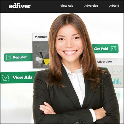AdFiver páginas para ganar dinero invirtiendo poco
