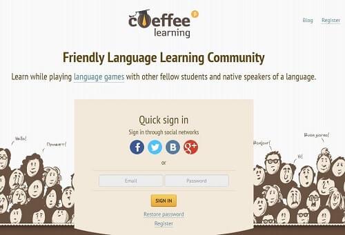 coeffe aprende idiomas jugando