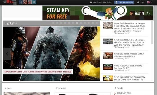 DLH-net paginas para descargar juegos pc