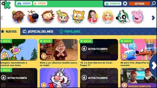 discovery kids paginas para niños