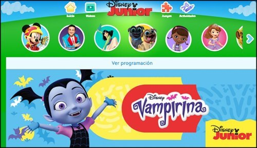 Disney Junior on line