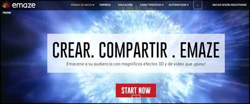 Emaze. Presentaciones online gratis