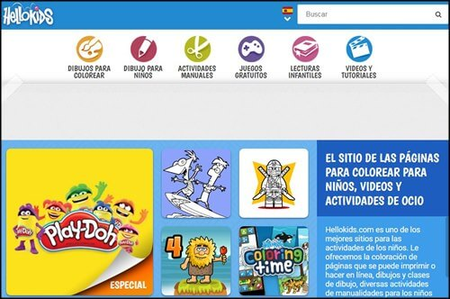 Hellos kids diversion en linea
