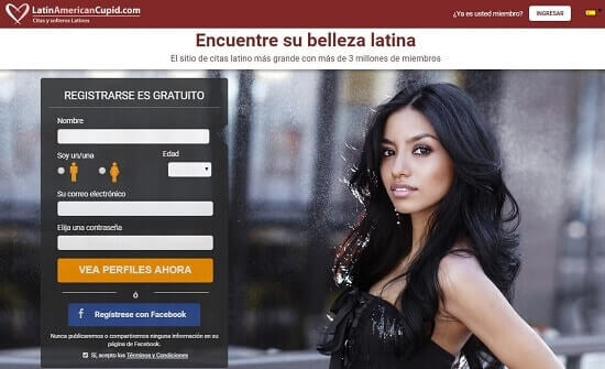 Latinamericacupid conocer chicas en internet