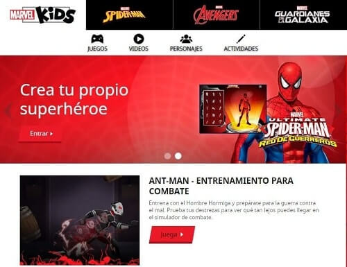 Marvel crear comics online