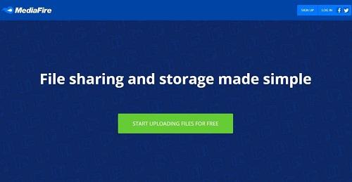 Mediafire mejores paginas subir archivos
