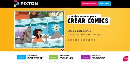 Pixton crear comics