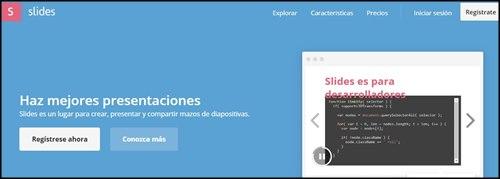 Slides. Para hacer diapositivas online