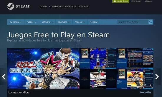 Steam mejor pagina para descargar juegos