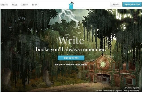 Storybird crear historietas