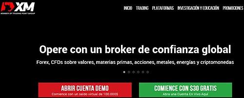 XM paginas para invertir por internet