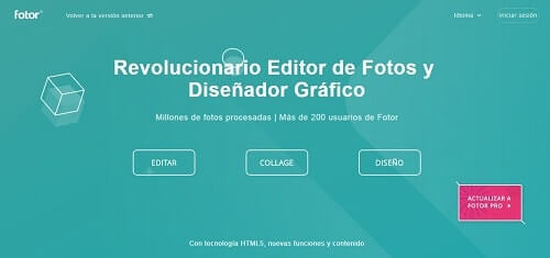 fotor paginas para editar imagenes