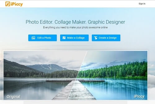 ipiccy editar fotos online