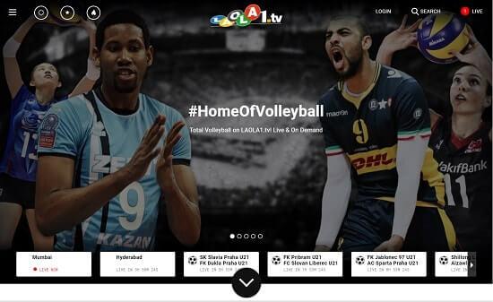 Laola1 paginas para ver el futbol en vivo