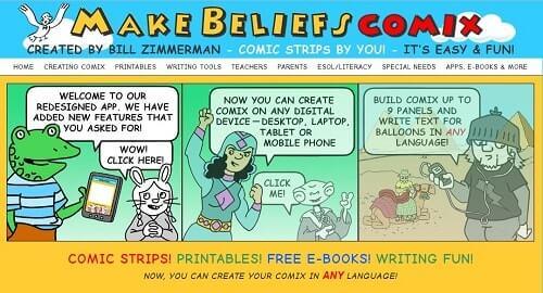 makebeliefscomix crear historietas