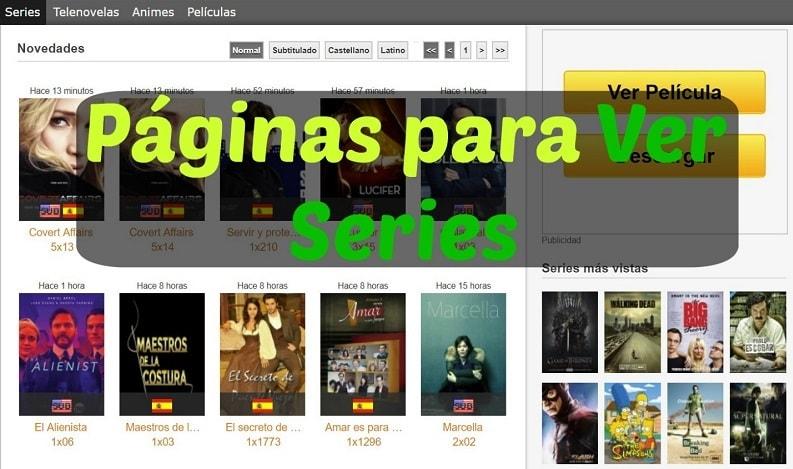 Las 15 Mejores Paginas Para Ver Series Online Streaming Descarga