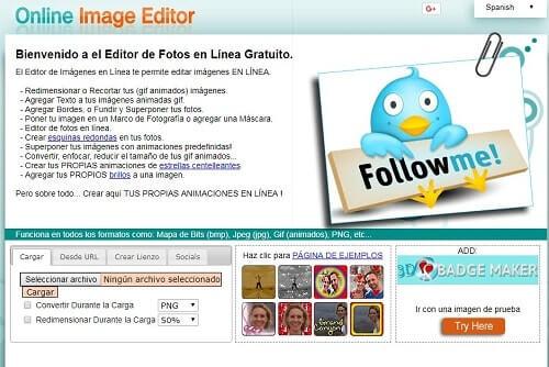 onlineimageeditor programas para editar fotos online