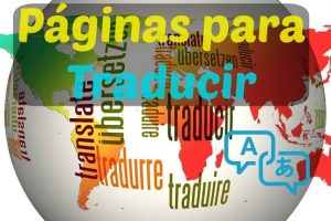 páginas para traducir textos y documentos