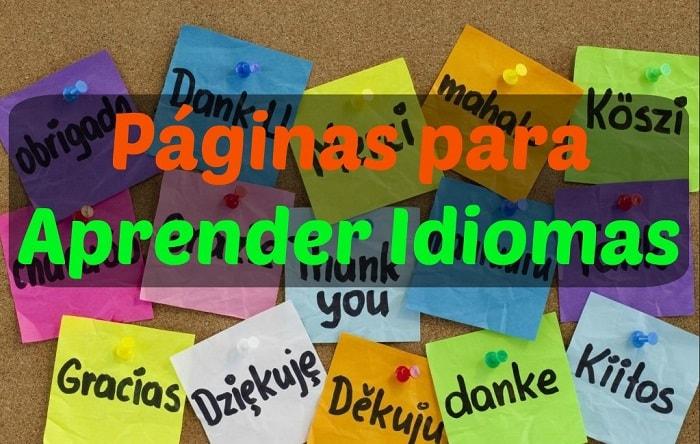 mejores paginas para aprender idiomas