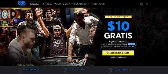888Poker Póker España para pc