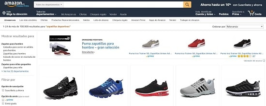 Amazon Zapatillas trail running baratas