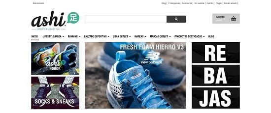 Ashi Sport Lifestyle Páginas para comprar zapatillas