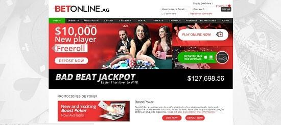 BetOnlinePoker Salas de póker online