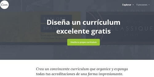 Canva diseña curriculum