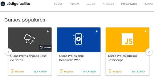 Codigo facilito programar en español