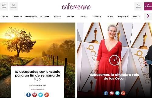 En femenino web para mujeres