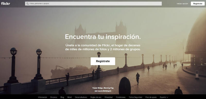 Flickr Competencia de youtube