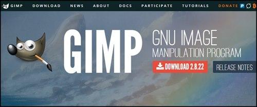 Gimp programa de software libre