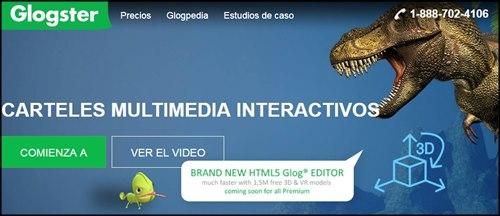 Glogster Edu para carteles interactivos