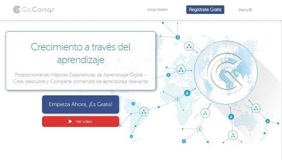 GoConqr paginas para hacer mapas conceptuales facil