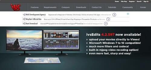 IVS programa editor de videos
