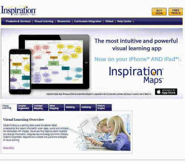 Inspiration Mapas conceptuales Online