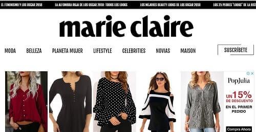 Marie Claire revista online