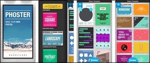 Phoster app para iPad y iPhone