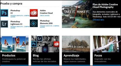 Adobe PhotoShop lider en programas de edicion