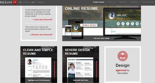 resumup web
