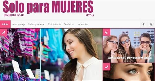 solo para mujeres revista colombiana on line